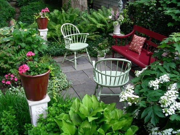 تنسيق حدائق البساتين